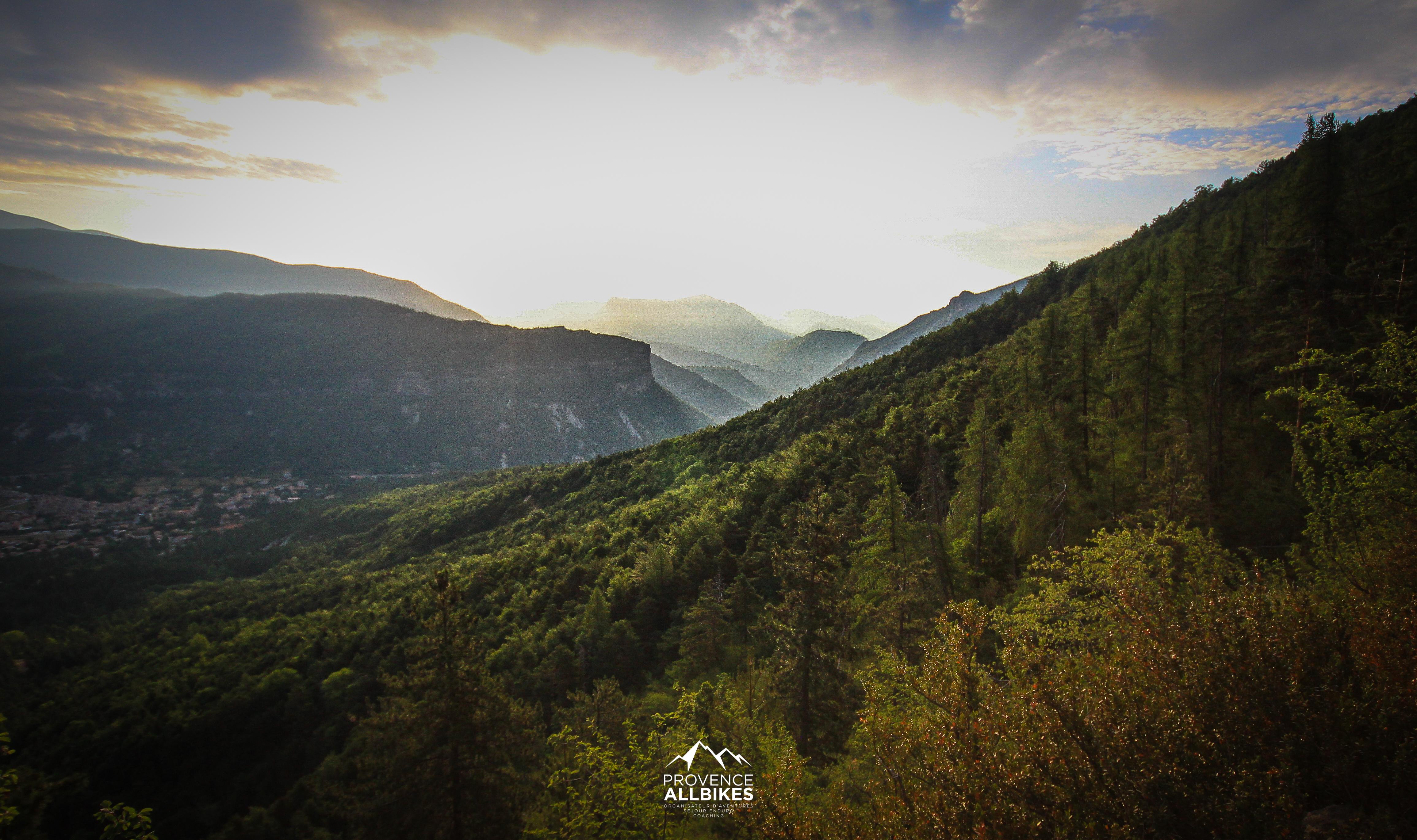 enduro trip mercantour - haut Verdon